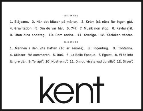 kent_best_of_tracklist